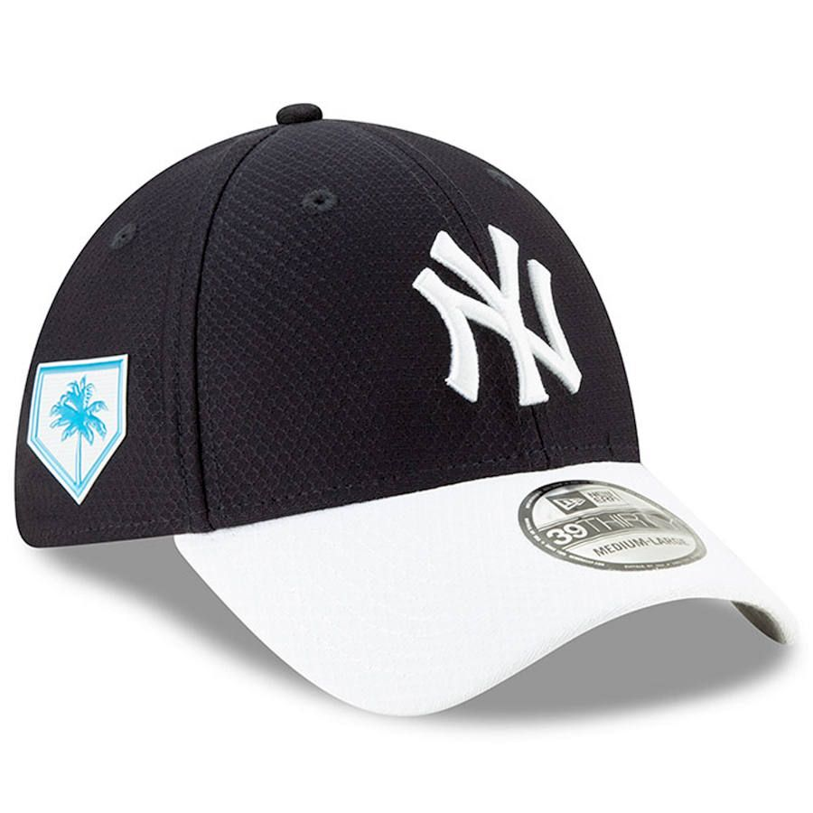best service df963 b73bf Men s New York Yankees New Era Navy 2019 Spring Training 39THIRTY Fitted Hat,   37.99