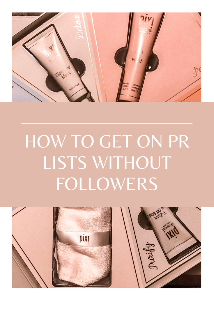 How To Get Pr Packages Without Followers Makeup Salon Free Makeup How To Get