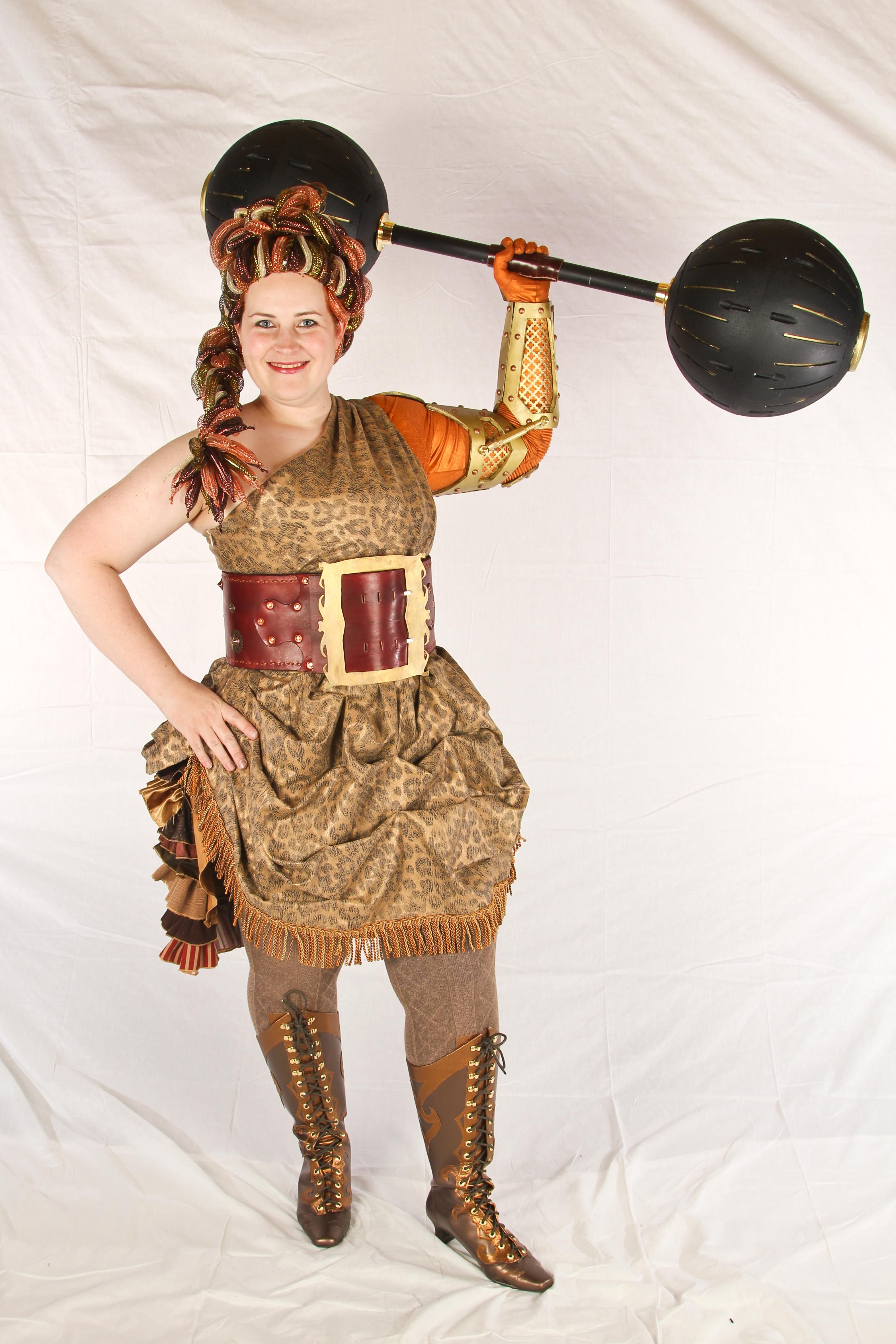 strongwoman costume superb vintage circus pinterest