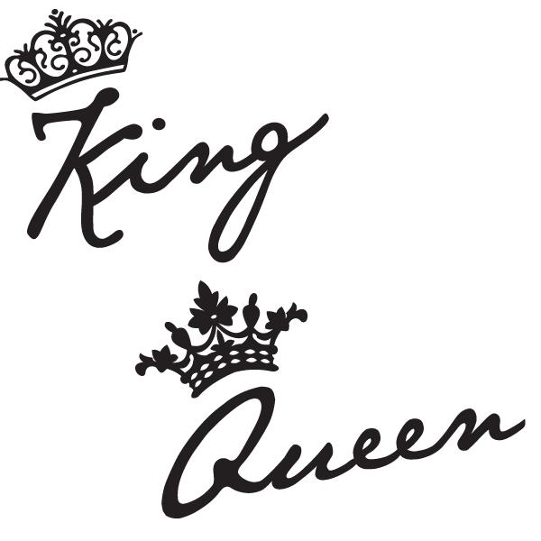 King Queen Komplet Skodelic King Crown Drawing Queen Bee Tattoo Queens Wallpaper