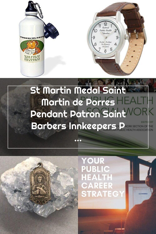 St Martin Medal Saint Martin de Porres Pendant Patron