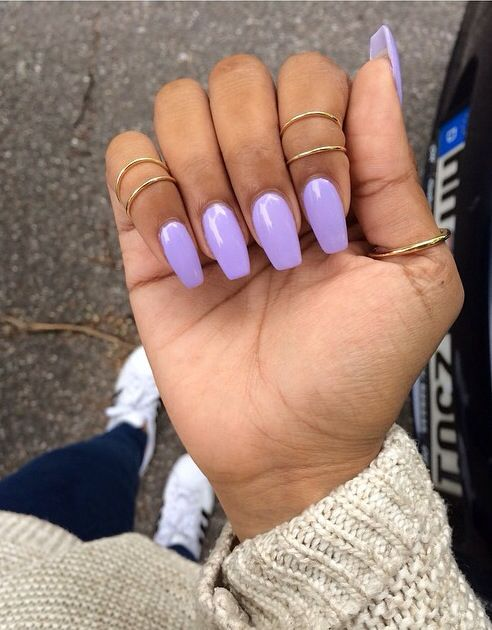 Pin By Sheridan Broady On Nails In 2019 Lavender Nails Acrylic
