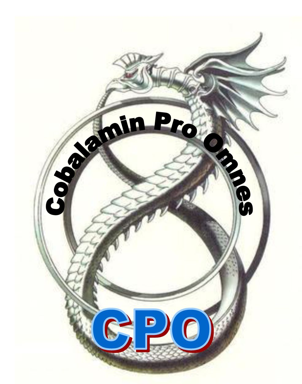 CPO Logo: Cobalamin Pro Omnes. 10-20% of all people has a vitamin B12 Deficiency. Everybody with chronic complaints is a B12 suspect. When the diagnosis stands: there is a much better treatment than the usual one. Cobalamin Pro Omnes: The right B12 (Methyl- and Adenosylcobalamin) for everybody!!