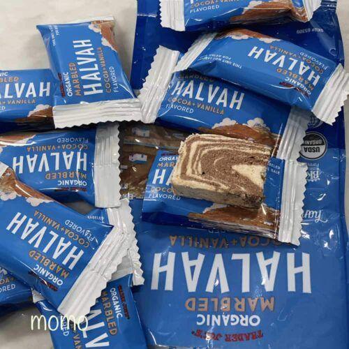 Photo of トレジョの甘いお菓子ハルヴァ Trader Joe's Organic Marbled Halvah