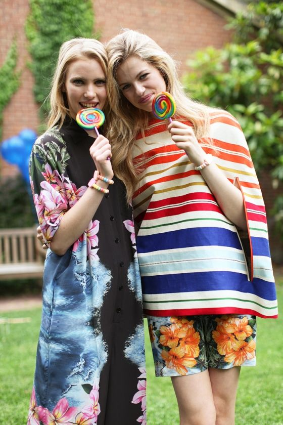 swirly rainbow lollipops make even the coolest outfit even better. stella mccartney resort 2012.