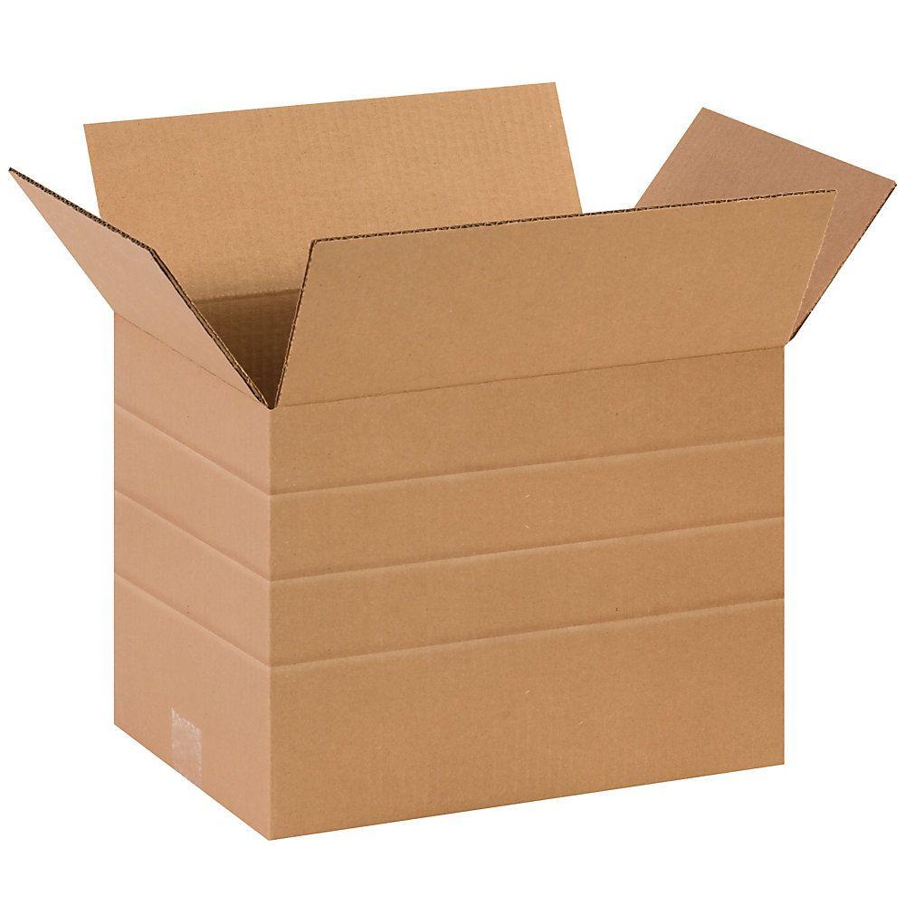 Brand multidepth corrugated cartons 10 x 14 x 10