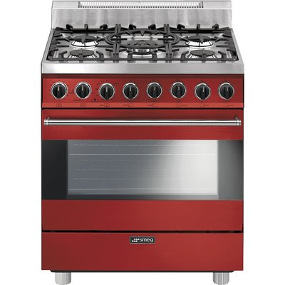 Smeg 30 3 55 Cu Ft Freestanding Gas