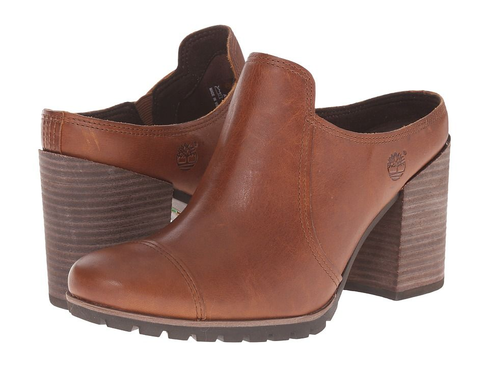 Womens Shoes Timberland Swazey Clog Wheat Forty Leather