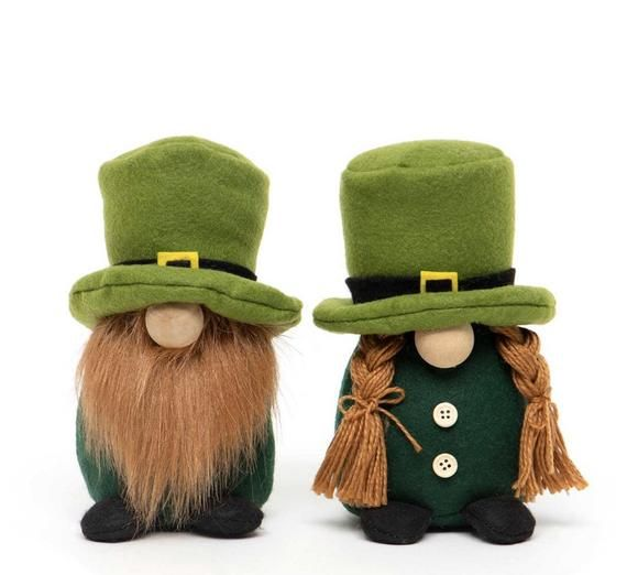 Irish Gnome, Gnome For St Patrick's Day, Irish Decor, Boy