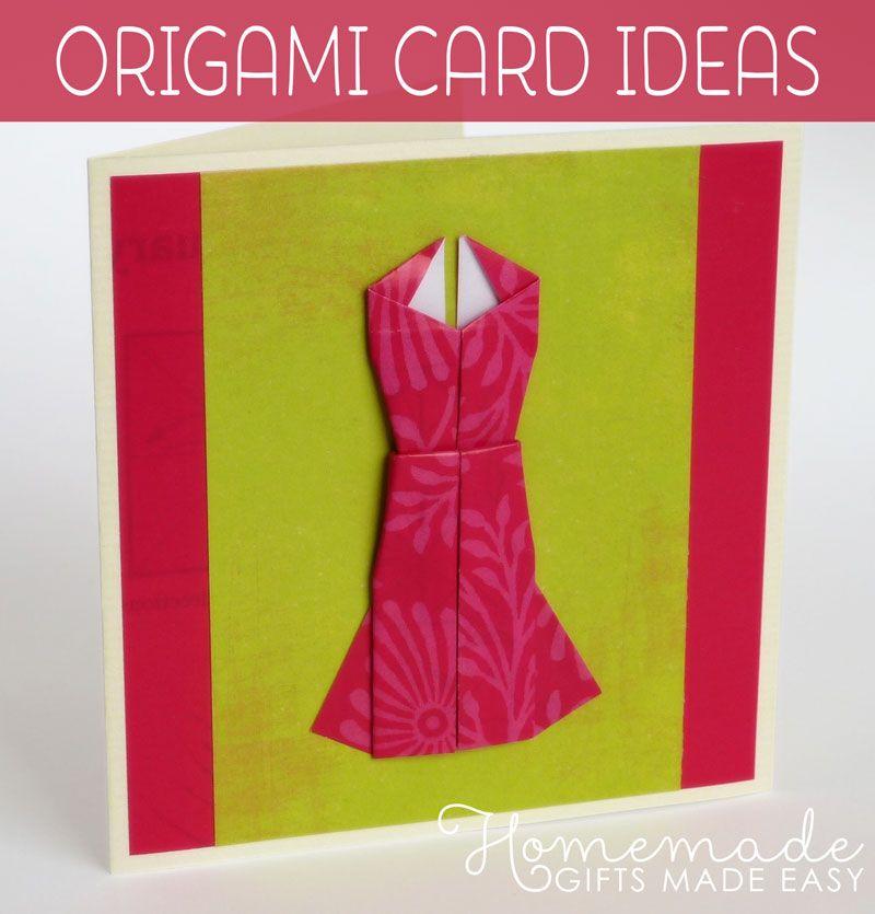 Как сделать из бумаги открытку на день рождения оригами