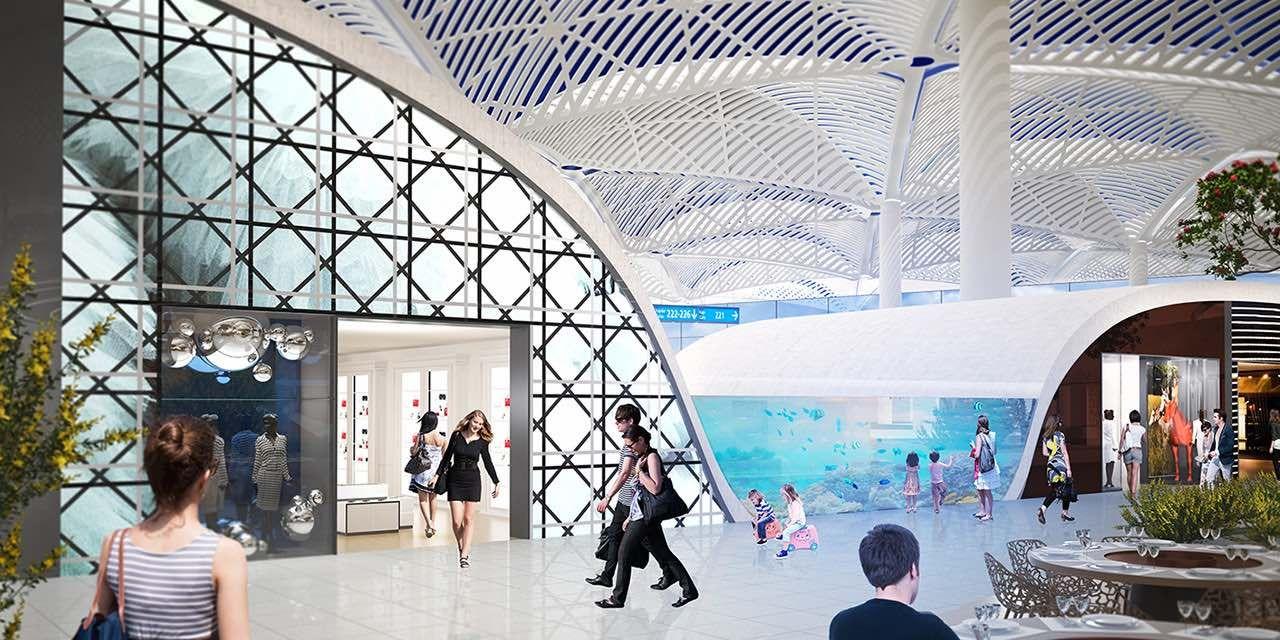 DutyFree für Istanbuls neuen MegaFlughafen Gebr