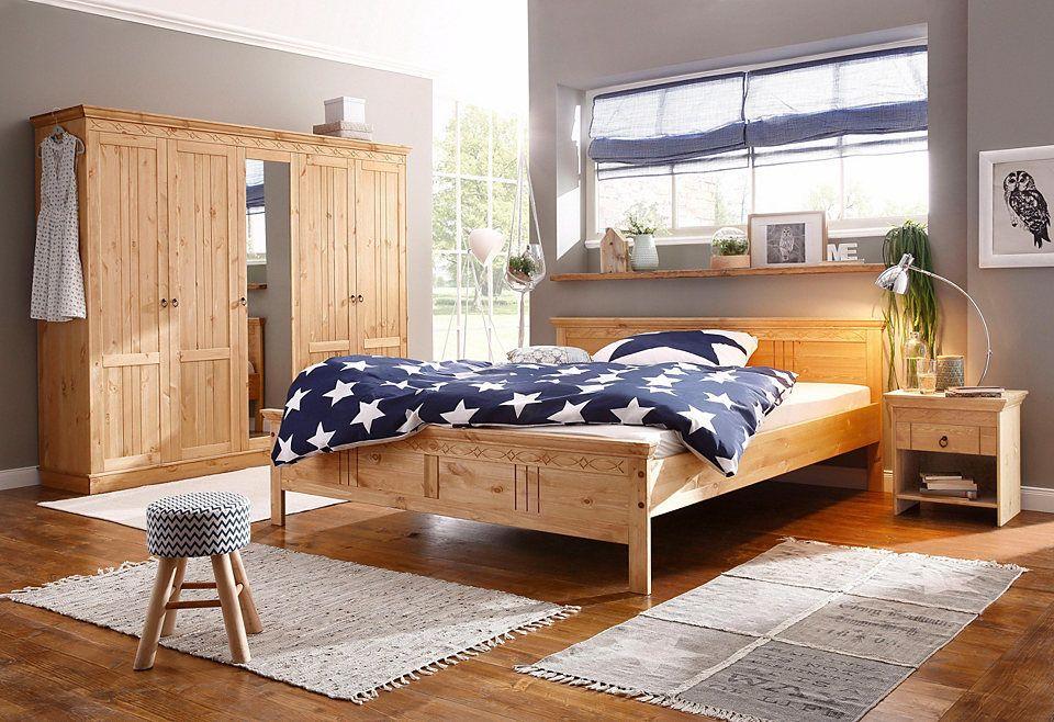 Home affaire Schlafzimmer-Set »Indra«, 4-teiliges Set, bestehend aus