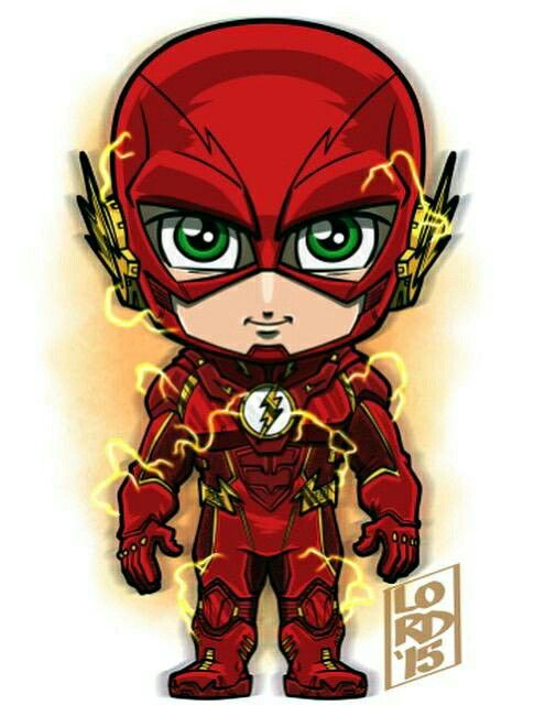 Lord mesa art the flash barry allen but it remind me of wally with the green eyes fan art - Flash le super heros ...