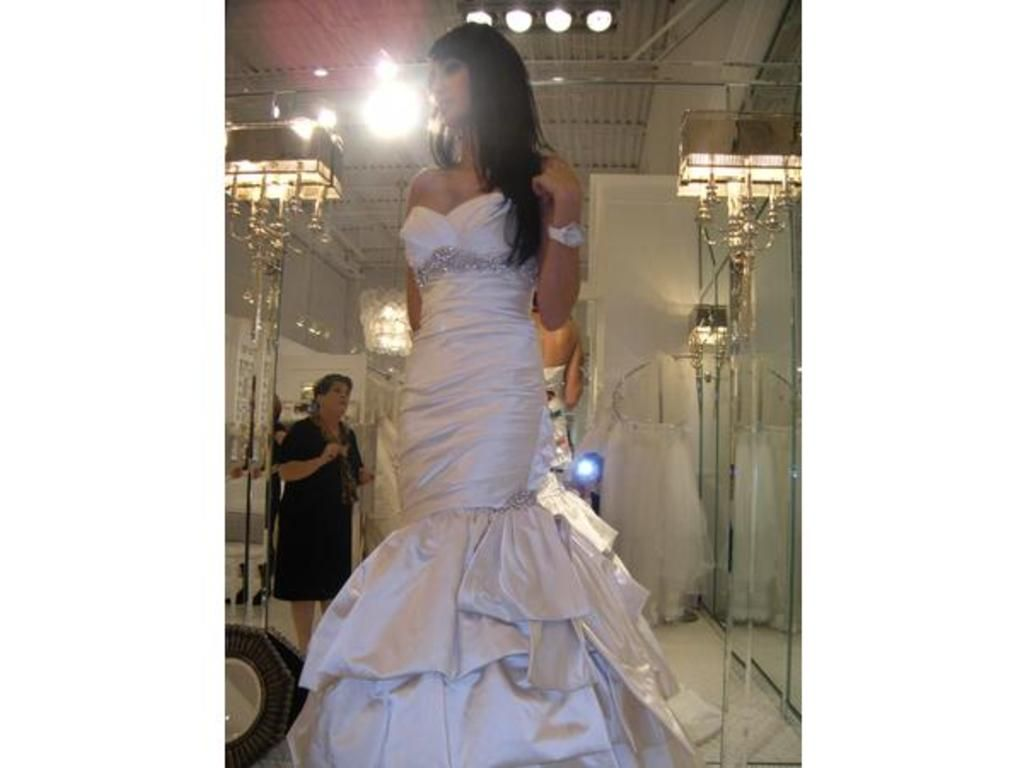 Used wedding dresses near me  Allure Bridals   Size   New Altered Wedding Dresses