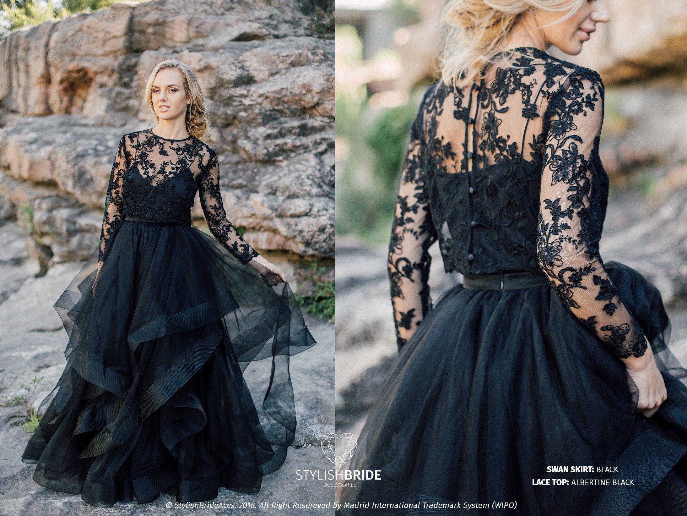Black Engagement Dresses