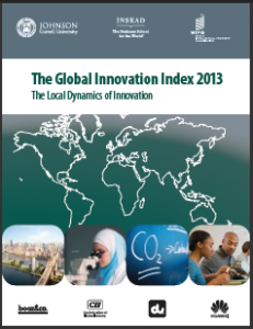 The Global Innovation Index 2013 Report