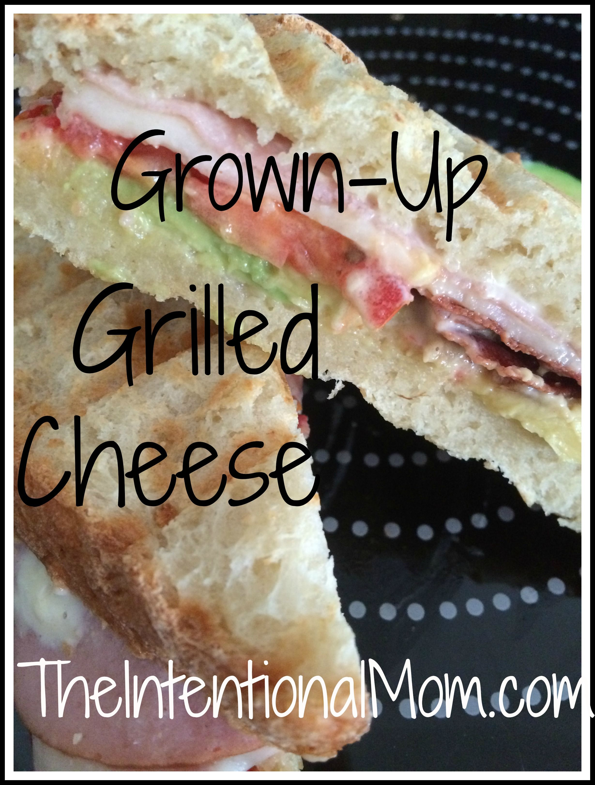 "Recipe: ""Grown Up"" Grilled Cheese"