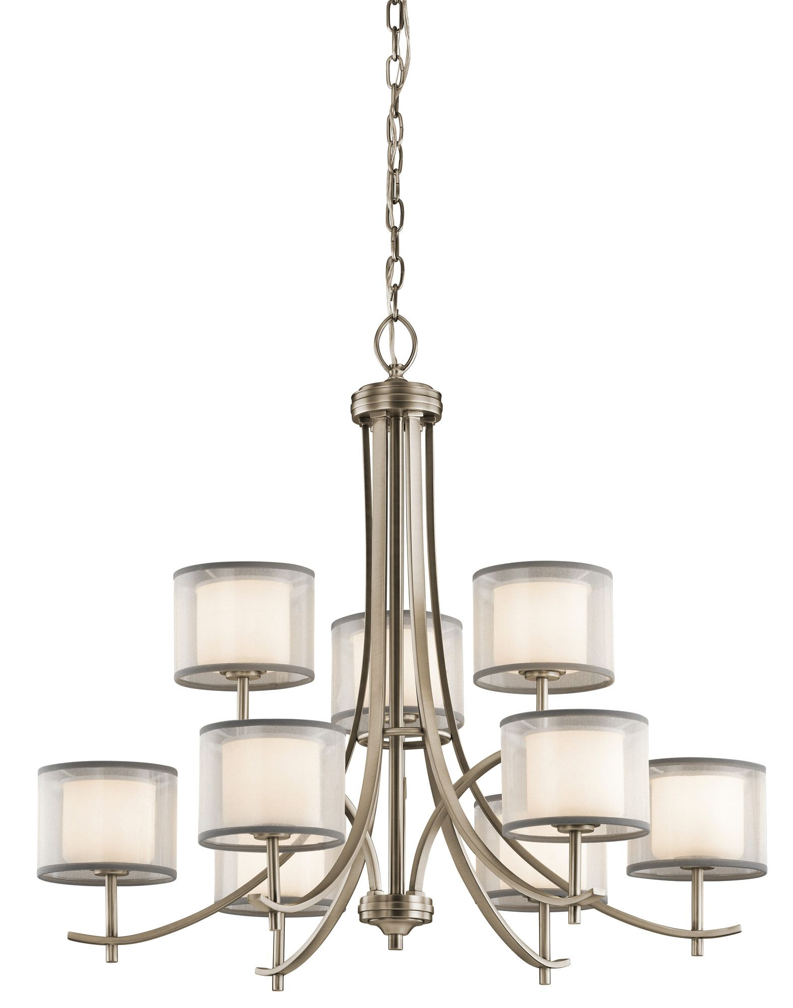 Ronald 9-Light Shaded Chandelier