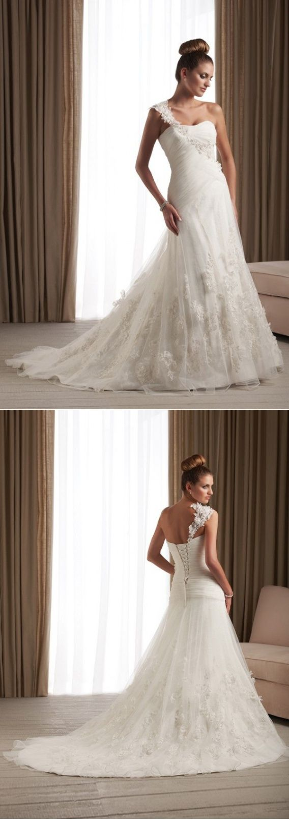 A Wedding Dress With Regard To Subsequent Marital Life Convertible Satin Draped…