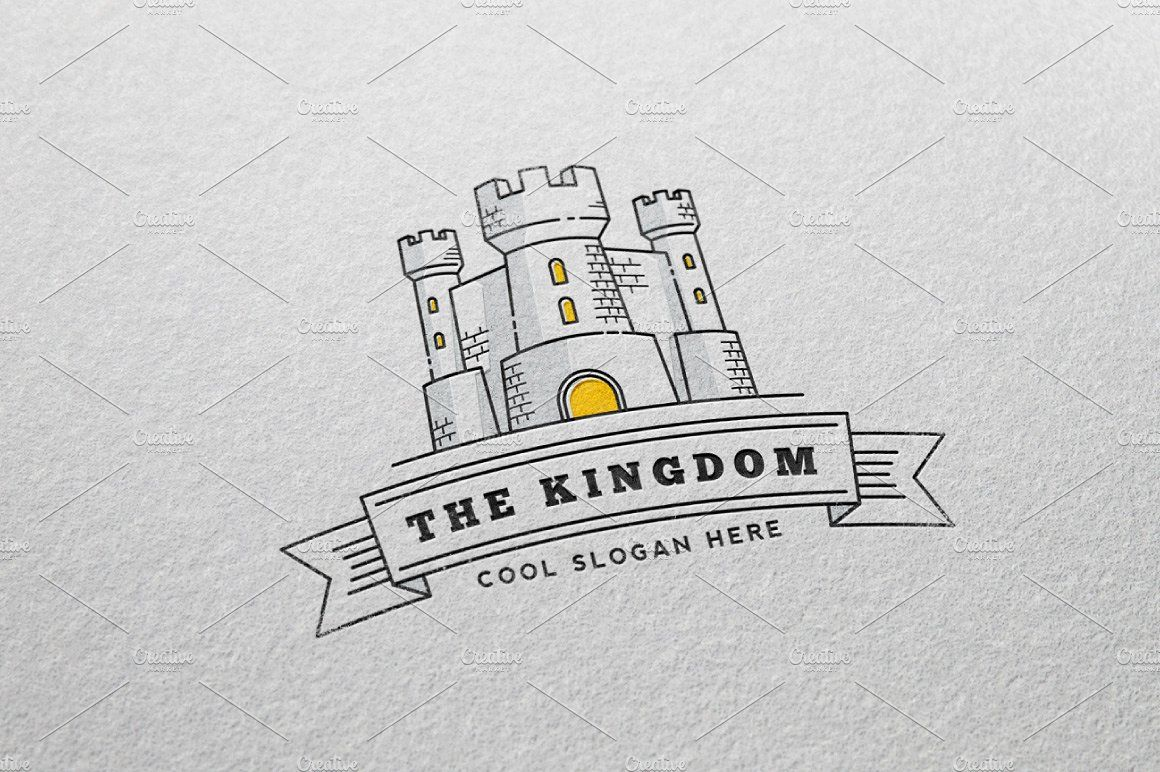 The Kingdom Logo Template (с изображениями)