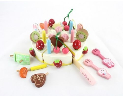 Hot-sale-mother-garden-colorful-wooden-toy-fruit-cake-cut-set-birthday-gift-1pc