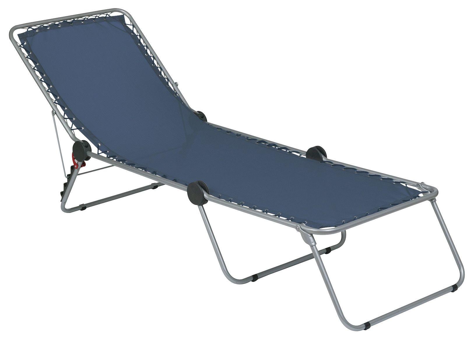 Lafuma siesta sun chaise lounger - Chaise camping lafuma ...