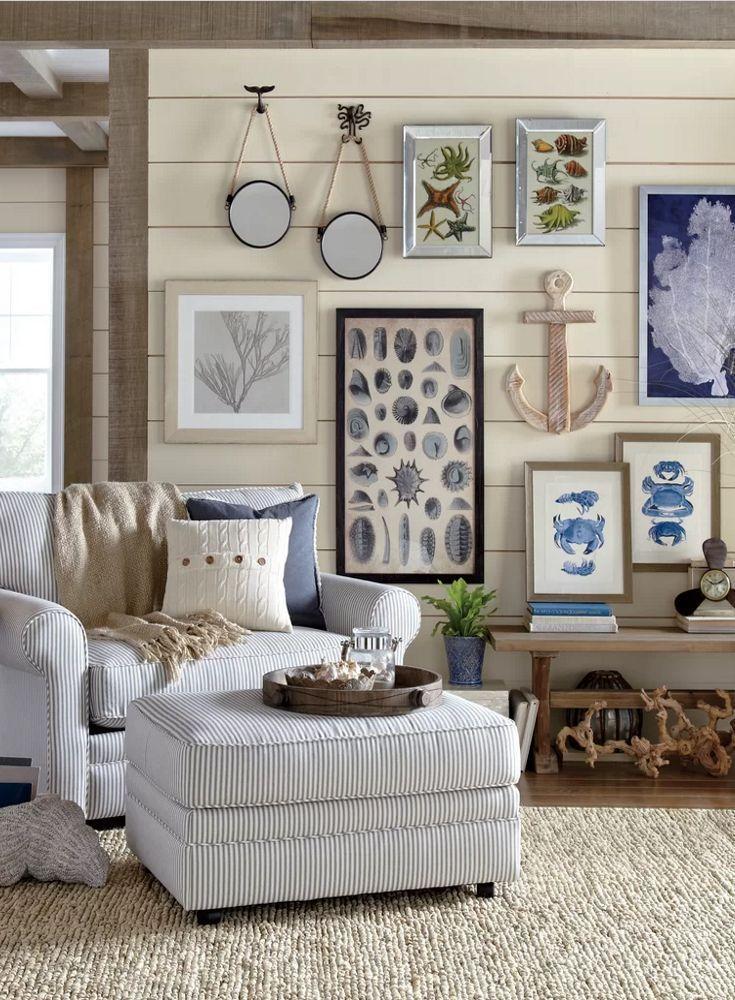 Coastal Living Room Decor affiliate