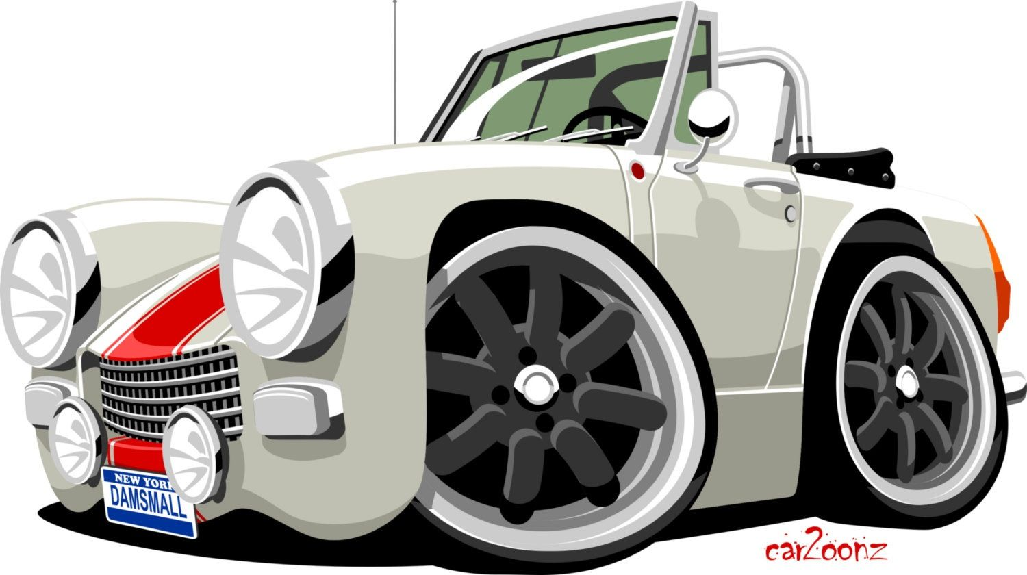 Cartoon of our mg our toy pinterest dessin voiture and dessin voiture - Coloriage cars toon ...