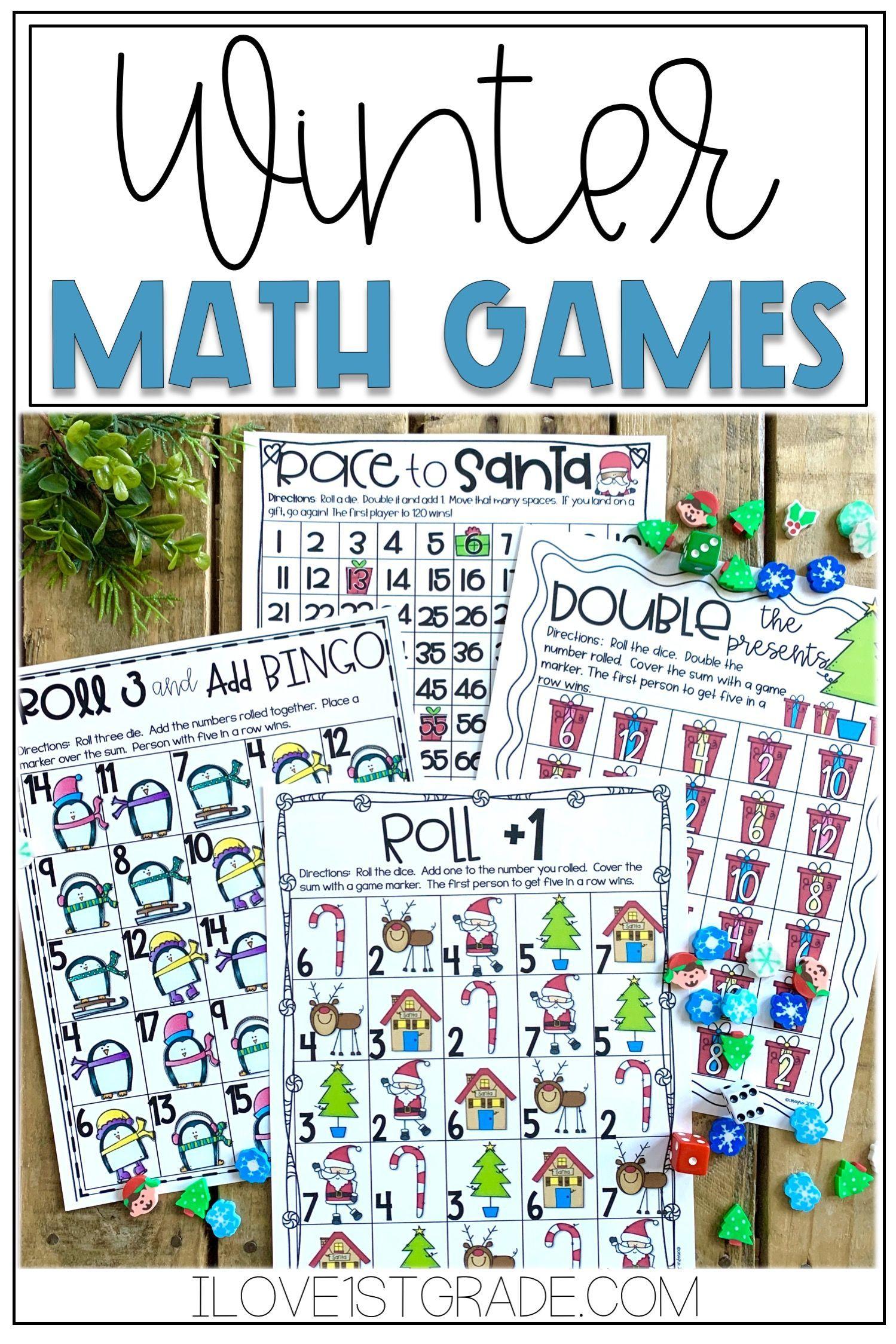 Winter Math Games Winter Math Winter Math Games Math Games [ 2249 x 1499 Pixel ]
