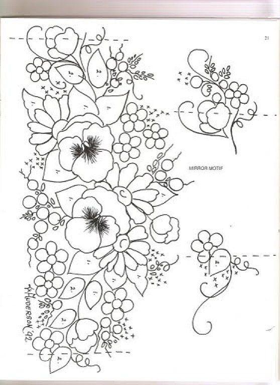flores para bordar en mantones - Buscar con Google | sumanashroff ...