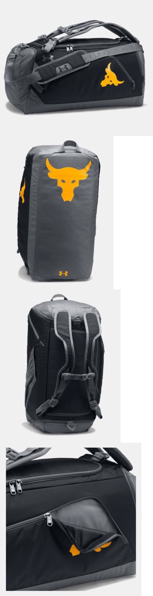 76b6dd9363 Bags and Backpacks 163537  Ua X Project Rock Under Armour Exclusive Contain  Duffel-Bag Nwt -  BUY IT NOW ONLY   150 on eBay!