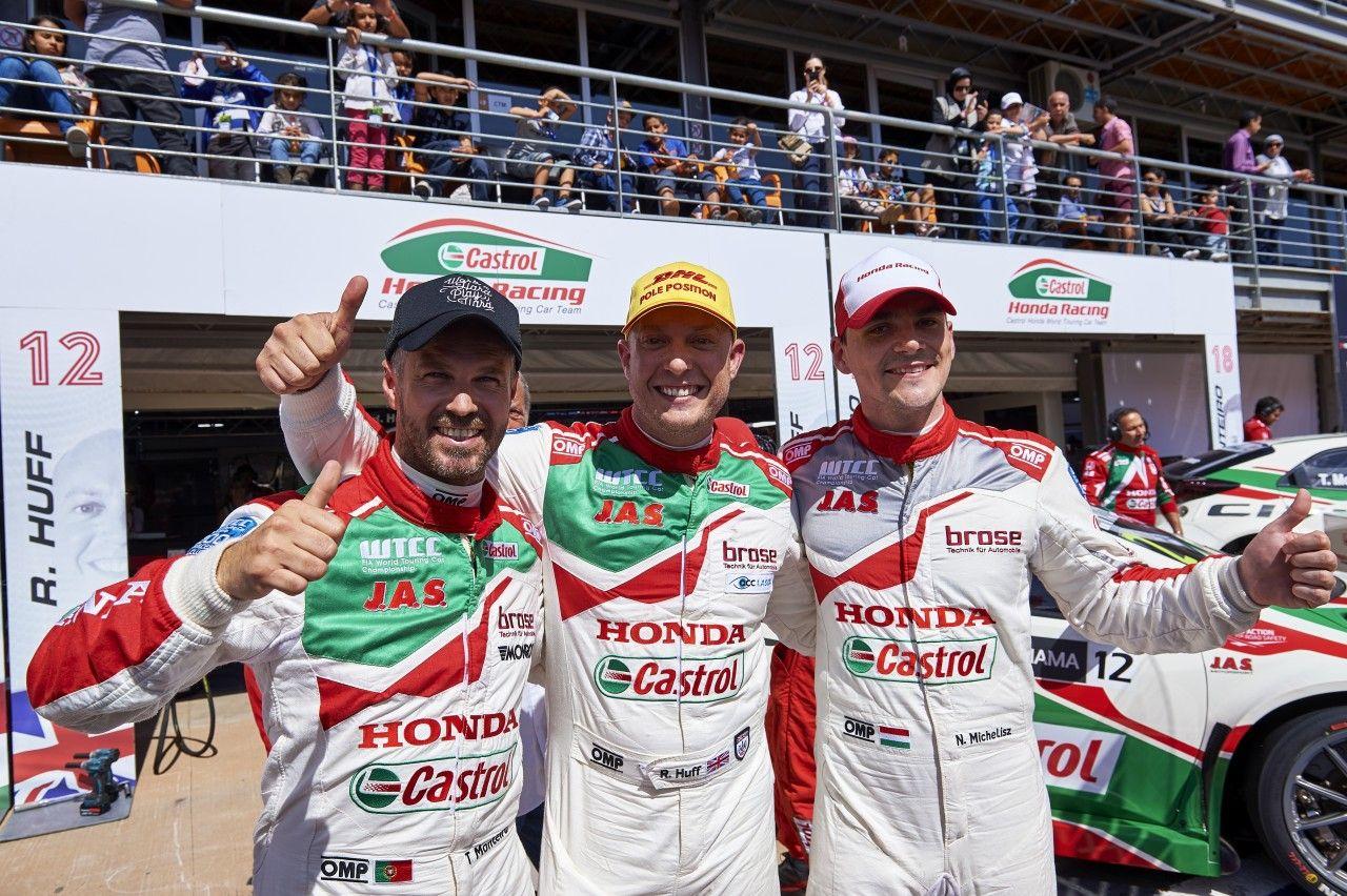 Qualifying Report: Rob Huff leads stunning Honda 1-2-3 in Morocco WTCC…