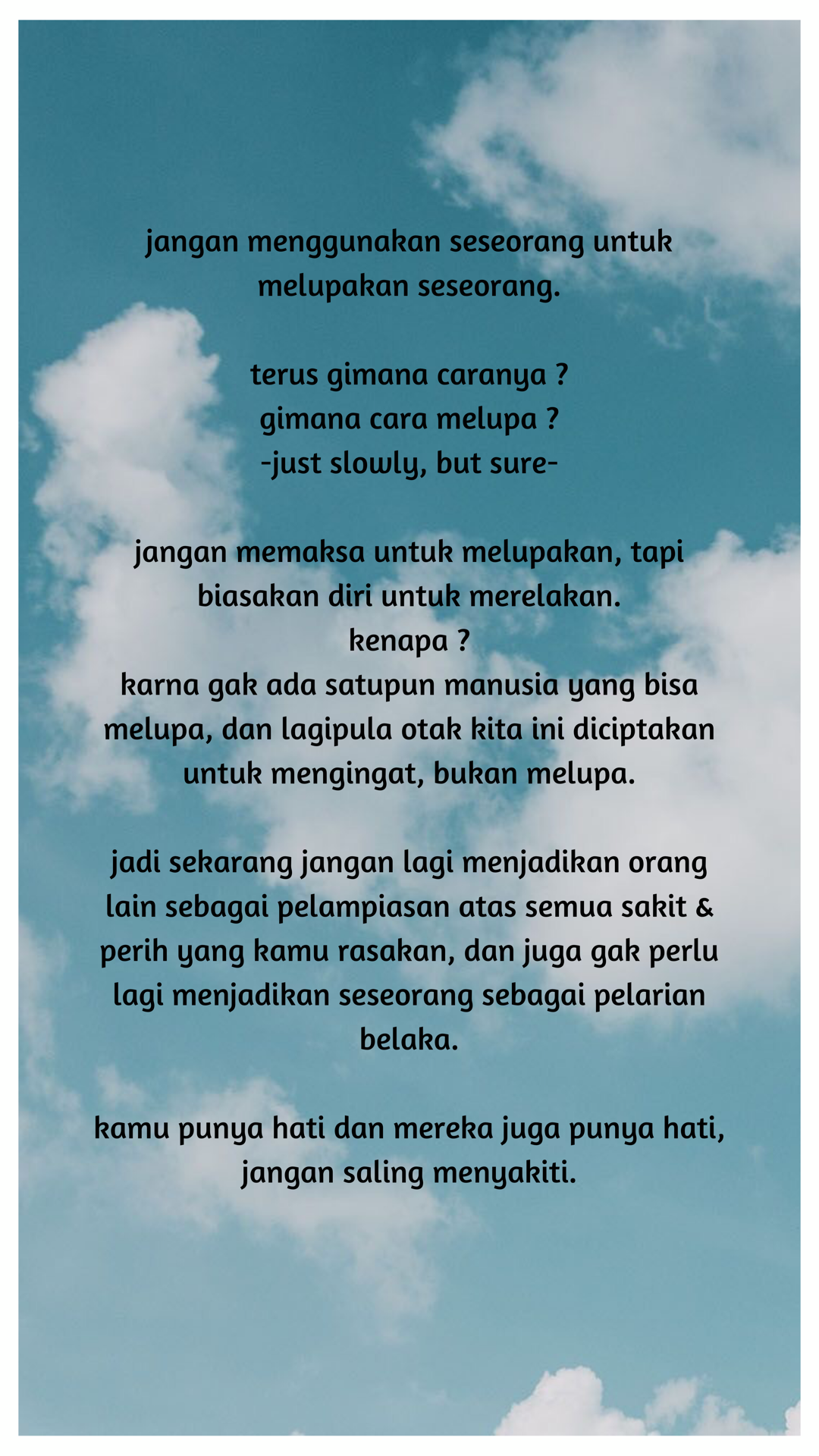 Puisi Melupakan Seseorang : puisi, melupakan, seseorang, Quotes, Kata-kata, Indah,, Motivasi,, Kutipan, Pelajaran, Hidup