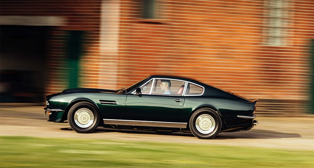 How The Original Aston Martin V8 Vantage Toppled The Supercar Tree Classic Driver Magazine