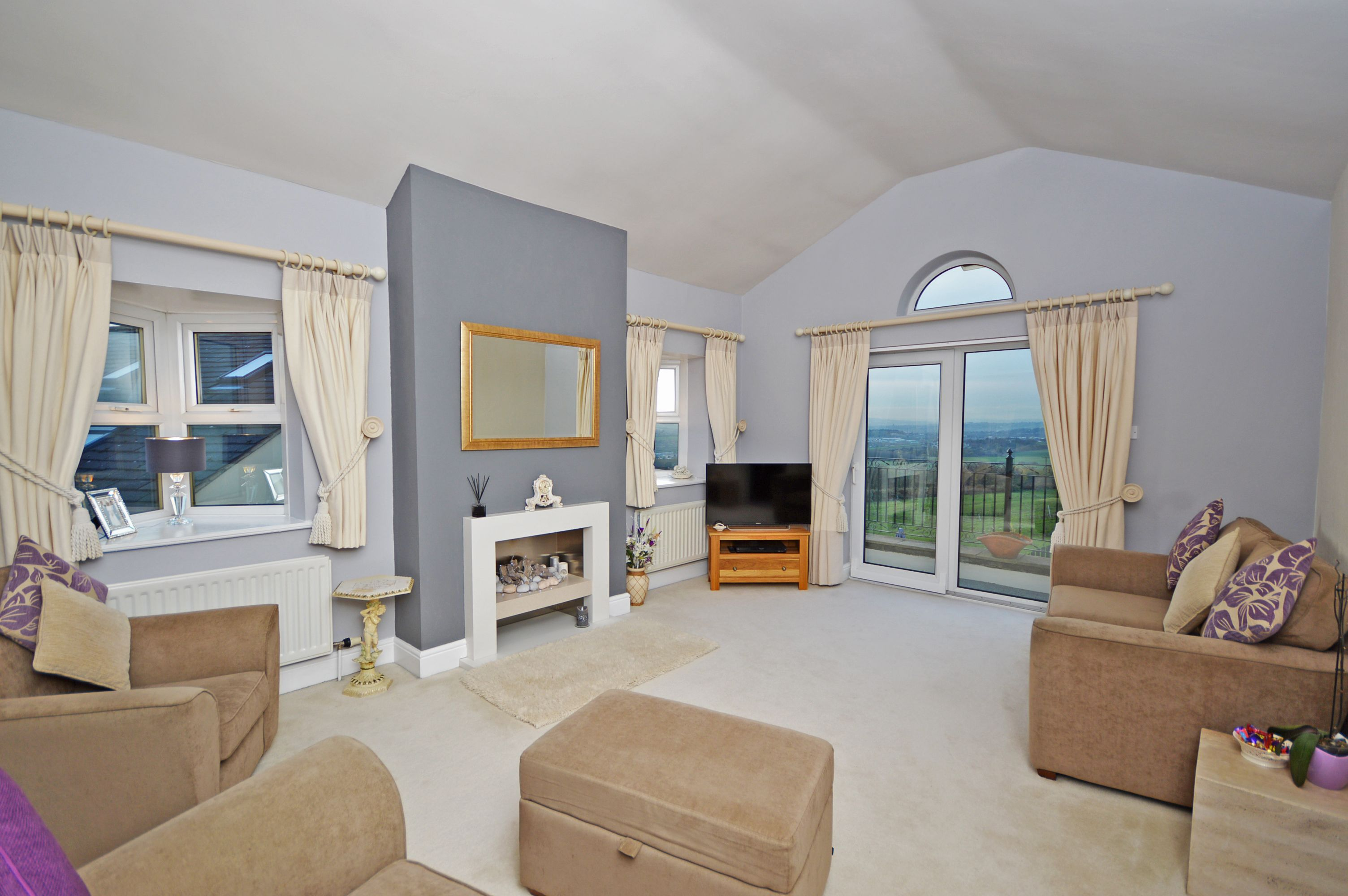 Living Room - The Highlands, Ossett - Property for sale ...
