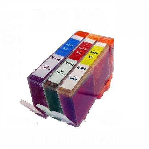 3 Pack Compatible HP 564XL Cyan Magenta Yellow ink cartridge