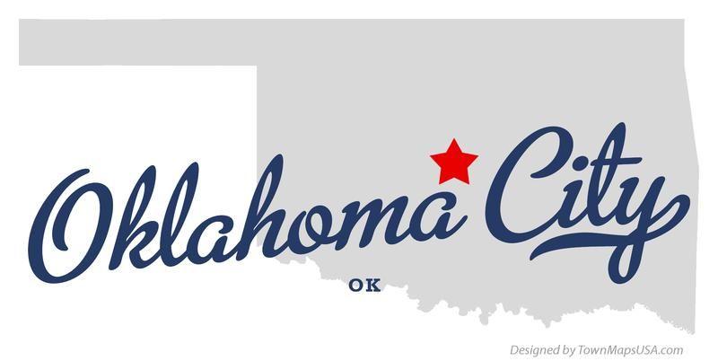 OKLAHOMA OKLAHOMA CITY MAPS Map of Oklahoma City Oklahoma OK