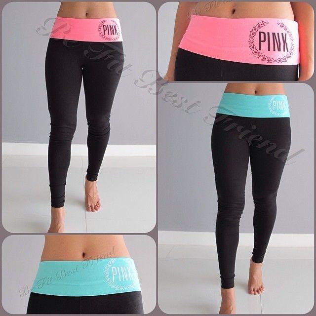 57fe95f7f2b01 Victoria's Secret PINK Yoga Legging large or XL | Clothes&Shoes ...