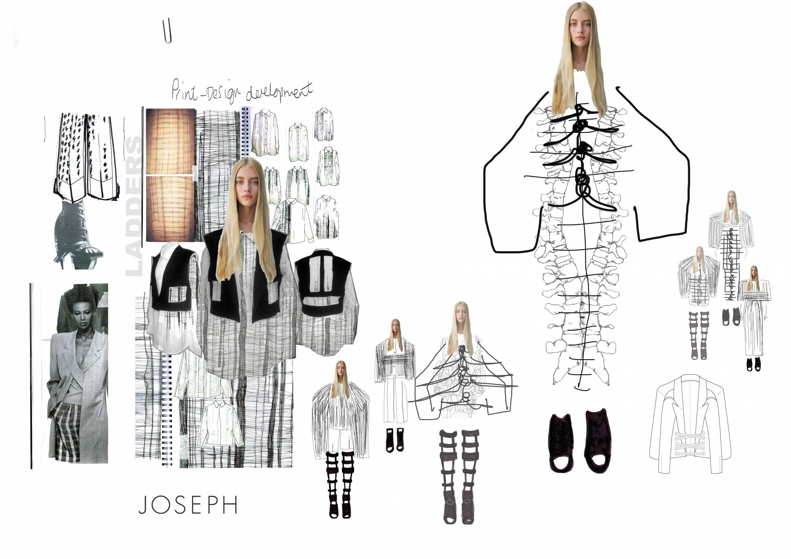 Joseph Fashion Portfolio Layout Fashion Design Portfolio Fashion Portfolio