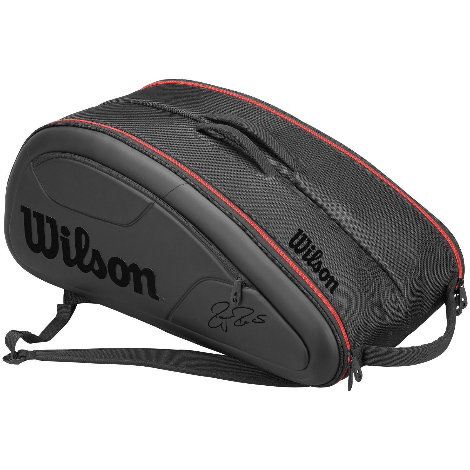 Wilson federer dna 12 racket black bag 2017, View
