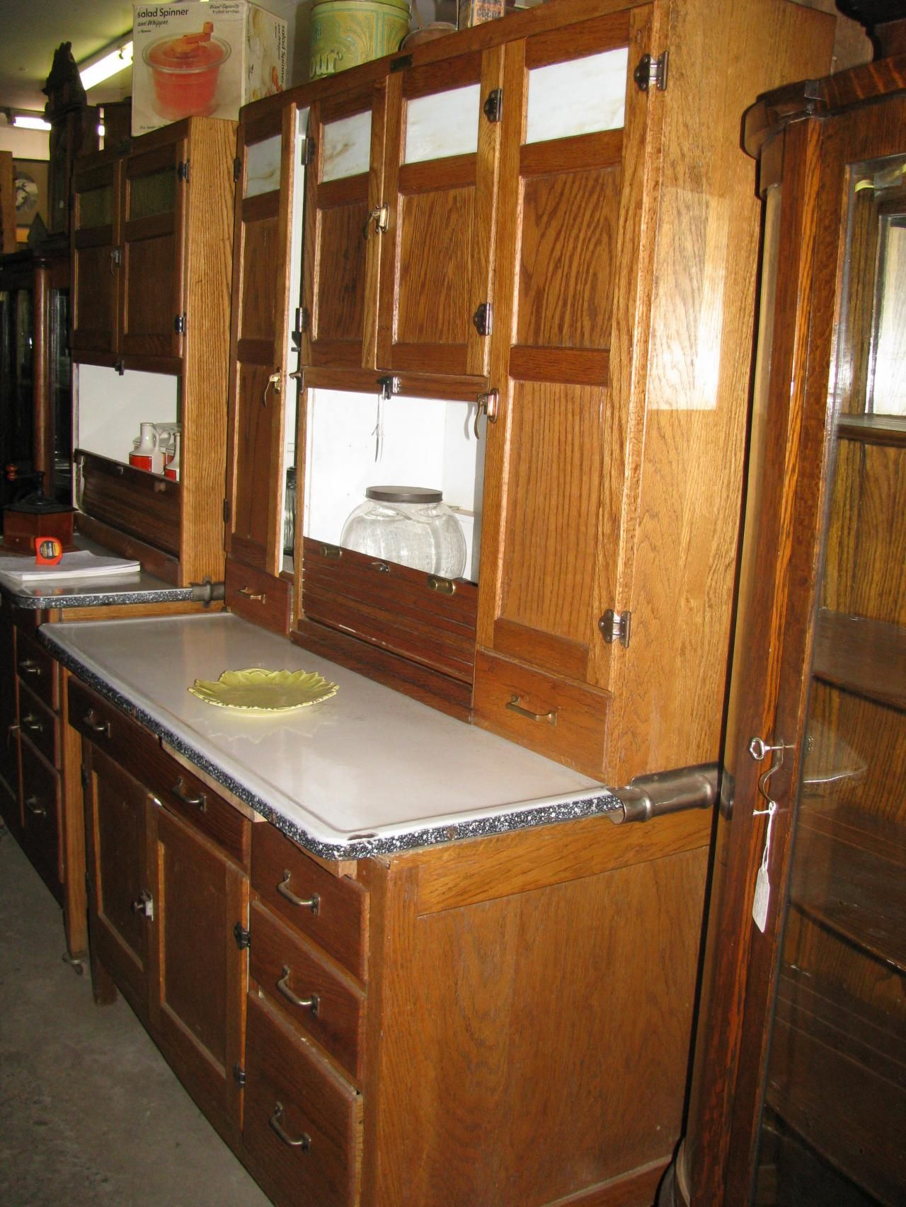 Antique Bakers Cabinet   Antiques U0026 Restorations   Hoosier/Bakers Cabinets  Including Yet .