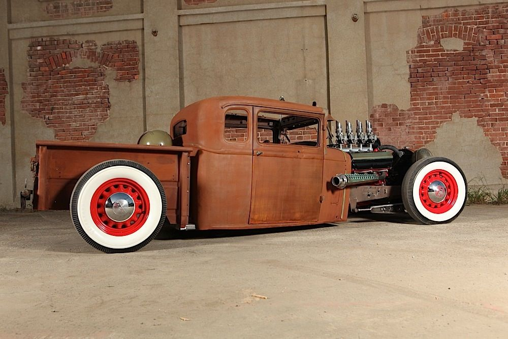 The Hot Rod Shop builds a unique Dodge Rat Rod for daily driving ...