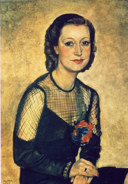 Felka Platek, Porträt der Frau Etienne, 1940; Felix-Nussbaum-Haus Osnabrück; Foto © Felix-Nussbaum-Haus Osnabrück