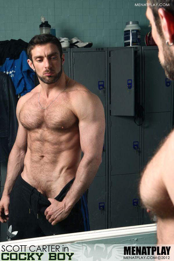 Hot gay men at play