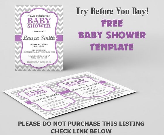 FREE Baby Shower Invitation Template DIY by DesignTemplates, $020 - microsoft word invitation templates free