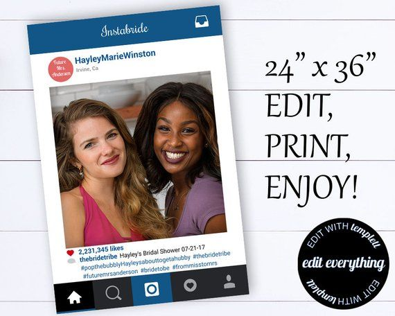 Instagram Frame Prop Instagram Prop Instagram Cutout Instagram
