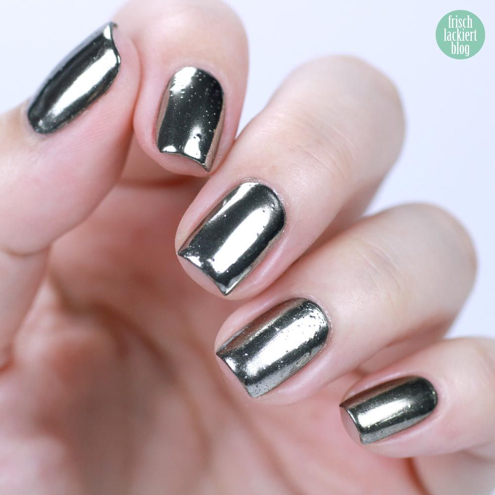 ANNY Mirror Nails – Chrome Nailart Trend – mit Nagellack ohne Gel ...