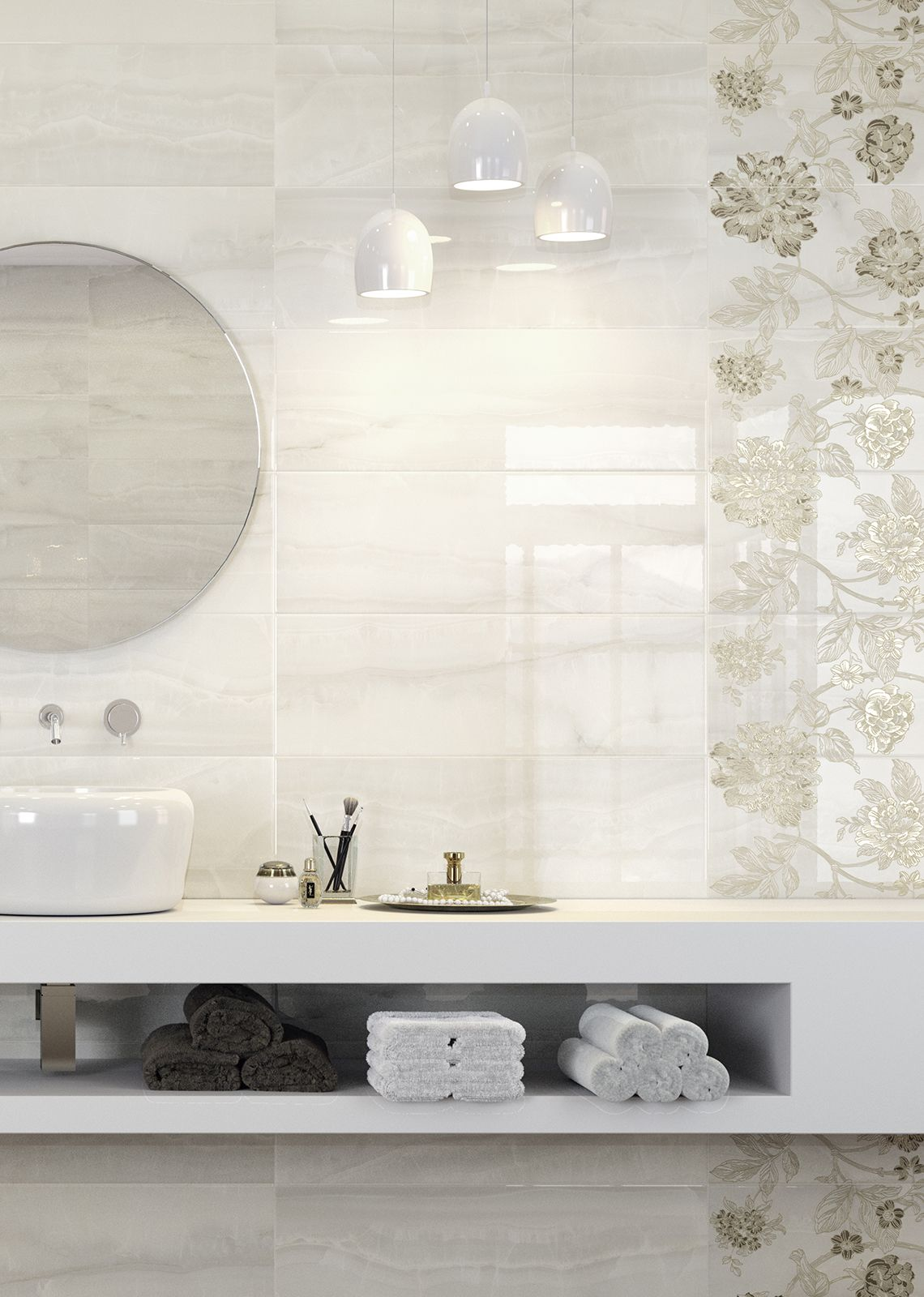 Onix marble look bathroom wall tile covering baderomsfliser onix marble look bathroom wall tile covering doublecrazyfo Images