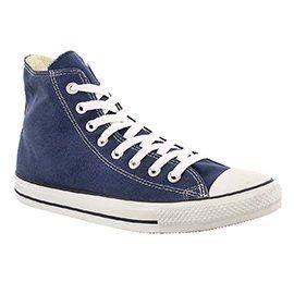 Converse Women s CHUCK TAYLOR CORE HI navy sneakers  1c946d228