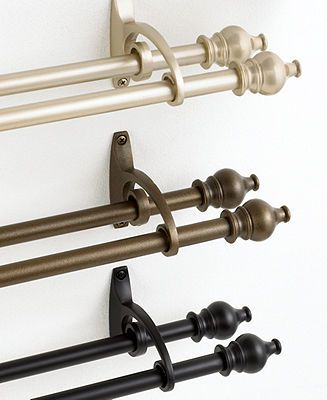 possible living room curtain rod
